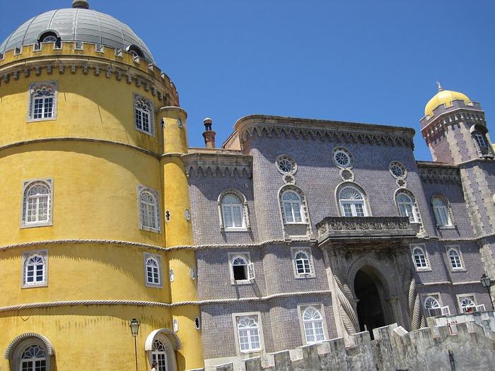 Замок Пена. Синтра, Португалия 69143