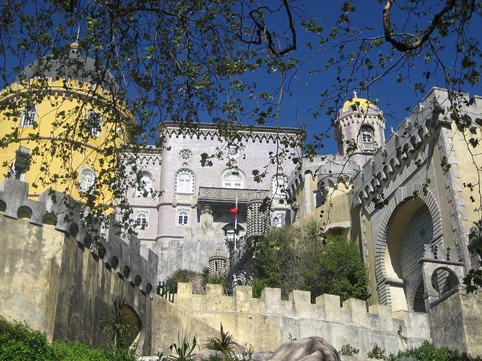 Замок Пена. Синтра, Португалия 24713