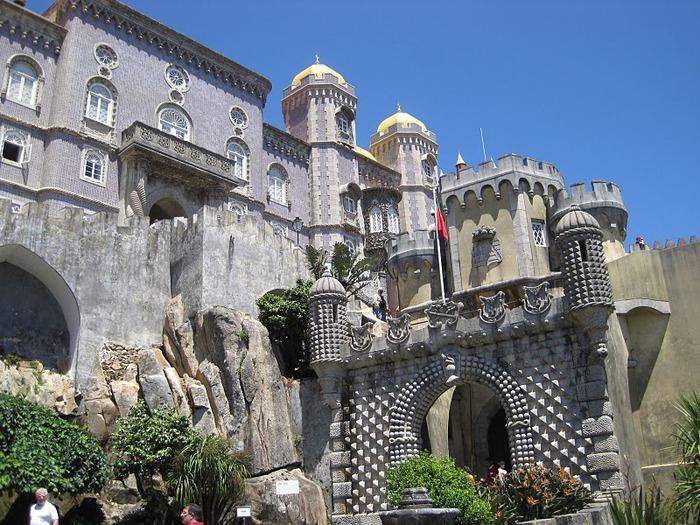 Замок Пена. Синтра, Португалия 75841