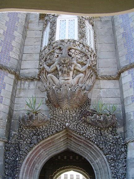 Замок Пена. Синтра, Португалия 37339