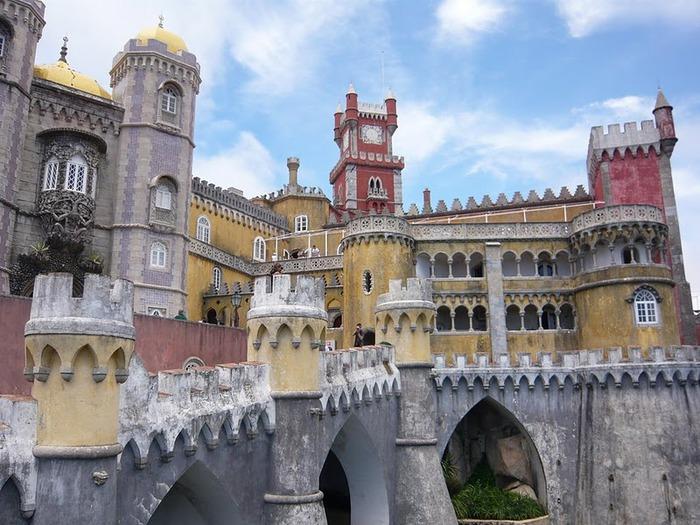 Замок Пена. Синтра, Португалия 81535