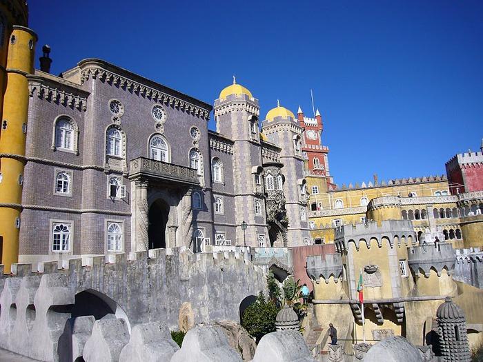 Замок Пена. Синтра, Португалия 70986