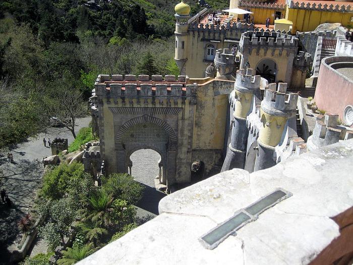 Замок Пена. Синтра, Португалия 74285