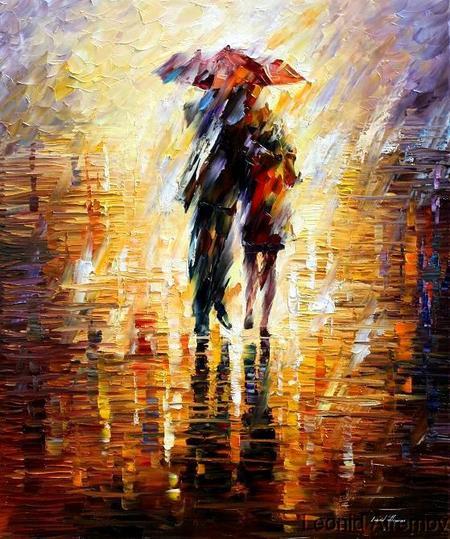 А за окном гуляют Дождь с