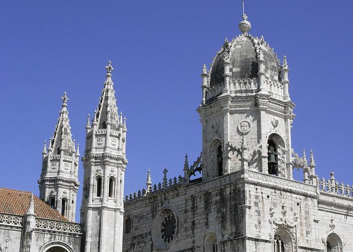 Монастырь Жеронимуш - жемчужина Португалии . 24531