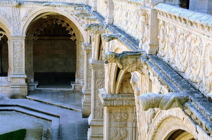 Монастырь Жеронимуш - жемчужина Португалии . 86391