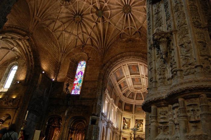 Монастырь Жеронимуш - жемчужина Португалии . 85192