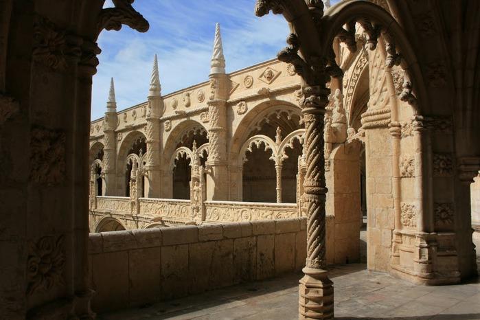 Монастырь Жеронимуш - жемчужина Португалии . 63986