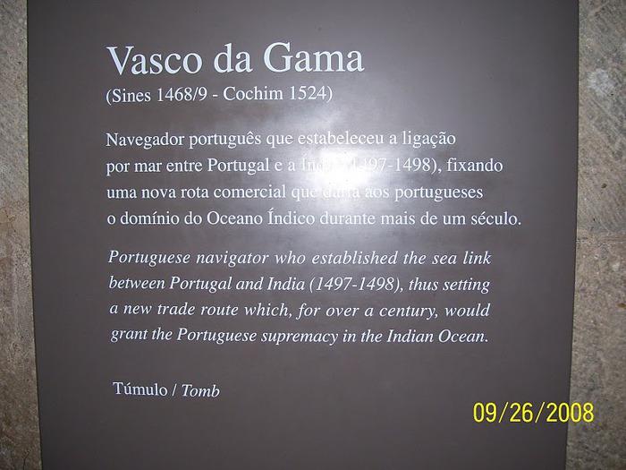 Монастырь Жеронимуш - жемчужина Португалии . 55319