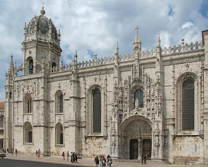 Монастырь Жеронимуш - жемчужина Португалии . 64256