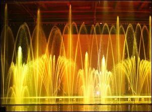 Танцующие фонтаны мира