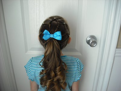 hairstyle for a little princess