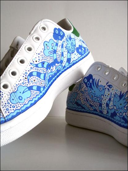Креативные кроссовки