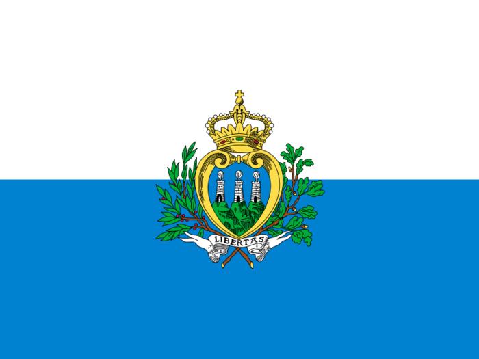 сан марино флаг
