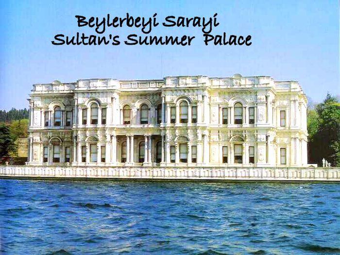 Дворец Бейлербеи (Beylerbeyi Palace) 19203