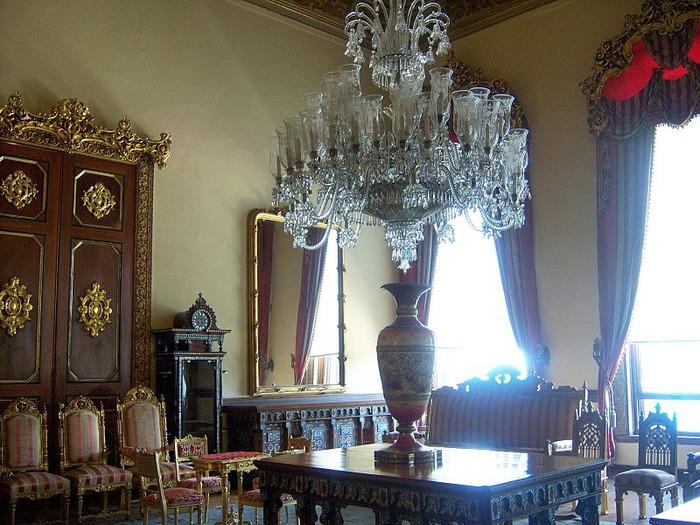 Дворец Бейлербеи (Beylerbeyi Palace) 74638