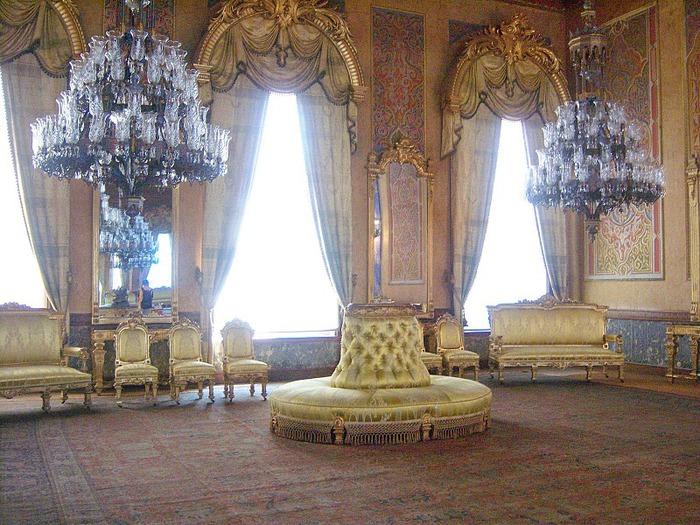 Дворец Бейлербеи (Beylerbeyi Palace) 33846