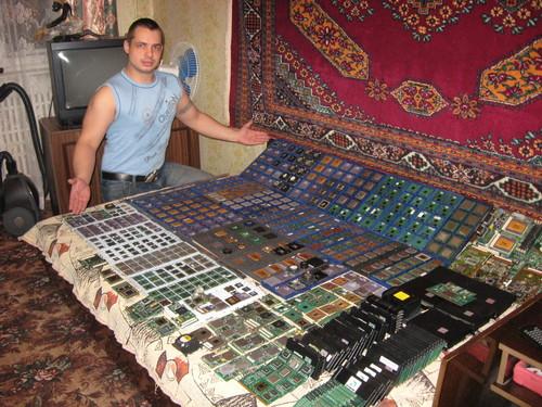 коллекционер процессоров
