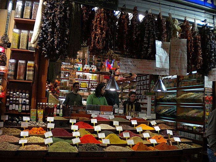 Египетский базар (или Рынок Пряностей) 12836