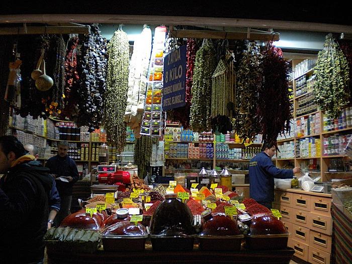 Египетский базар (или Рынок Пряностей) 14398