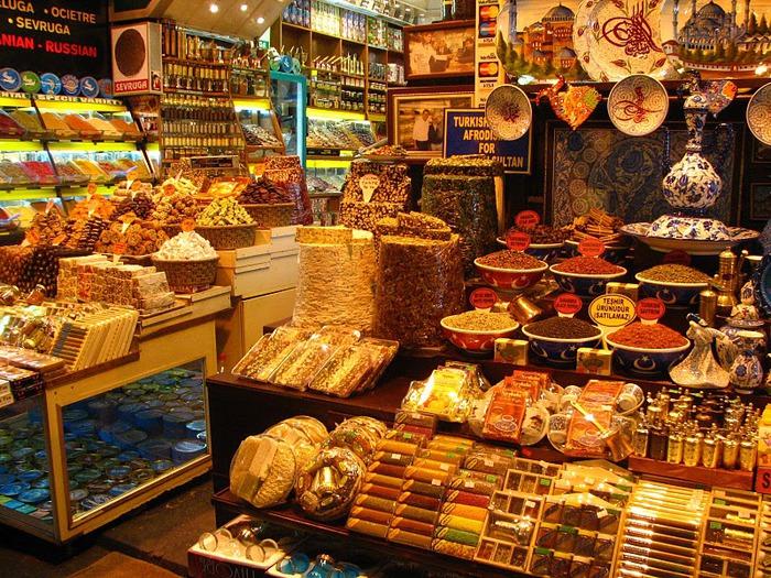 Египетский базар (или Рынок Пряностей) 54803