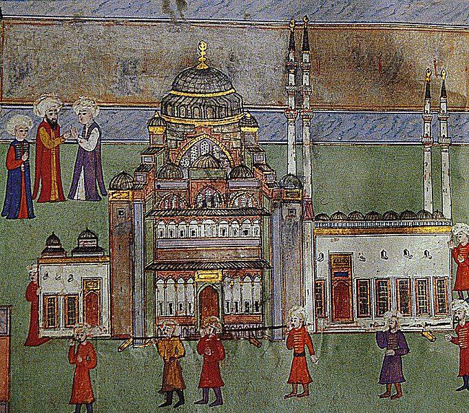 Мечеть Сулеймана - мечеть, которую хранит любовь!. 59784