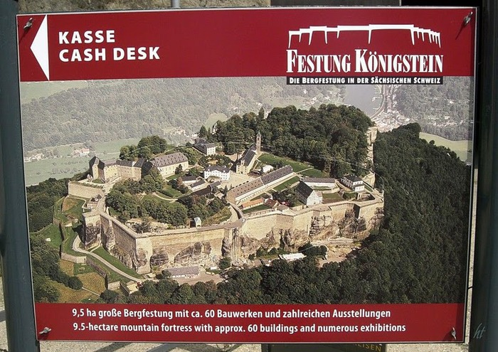 Крепость Кёнигштайн 24482
