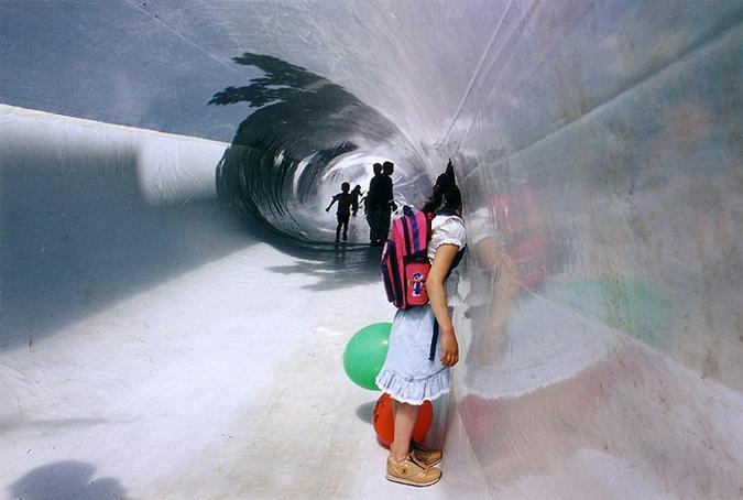 Надувная инсталляция от Plastique Fantastique