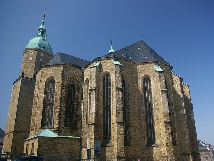Готическая церковь св. Анны в Аннаберг-Буххольце 61980