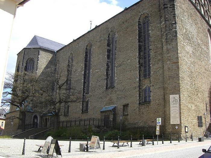 Готическая церковь св. Анны в Аннаберг-Буххольце 15549