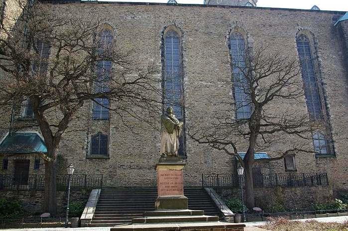 Готическая церковь св. Анны в Аннаберг-Буххольце 95214