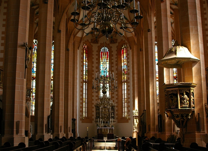 Готическая церковь св. Анны в Аннаберг-Буххольце 33656