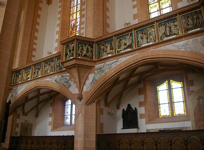 Готическая церковь св. Анны в Аннаберг-Буххольце 34278