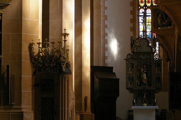 Готическая церковь св. Анны в Аннаберг-Буххольце 87887