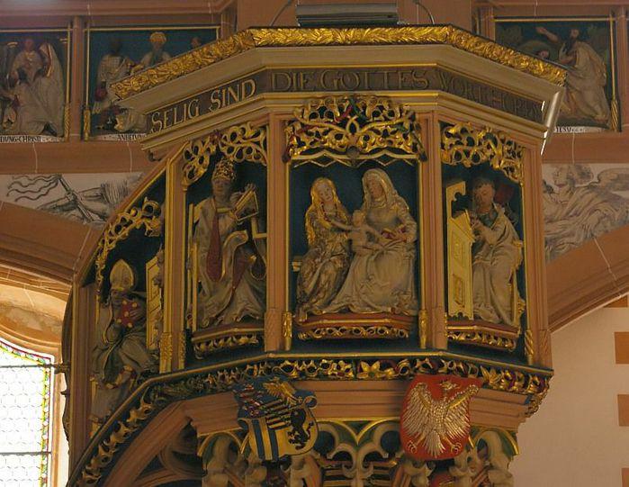 Готическая церковь св. Анны в Аннаберг-Буххольце 98501