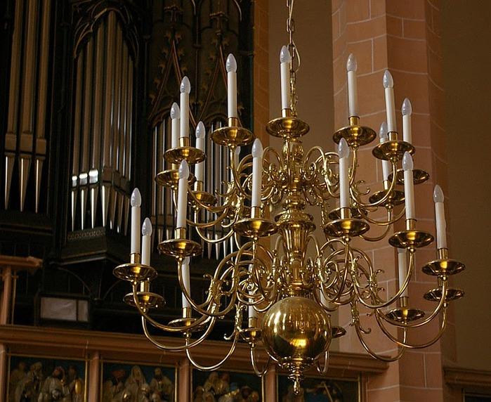Готическая церковь св. Анны в Аннаберг-Буххольце 84058