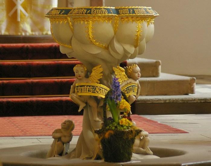 Готическая церковь св. Анны в Аннаберг-Буххольце 50747