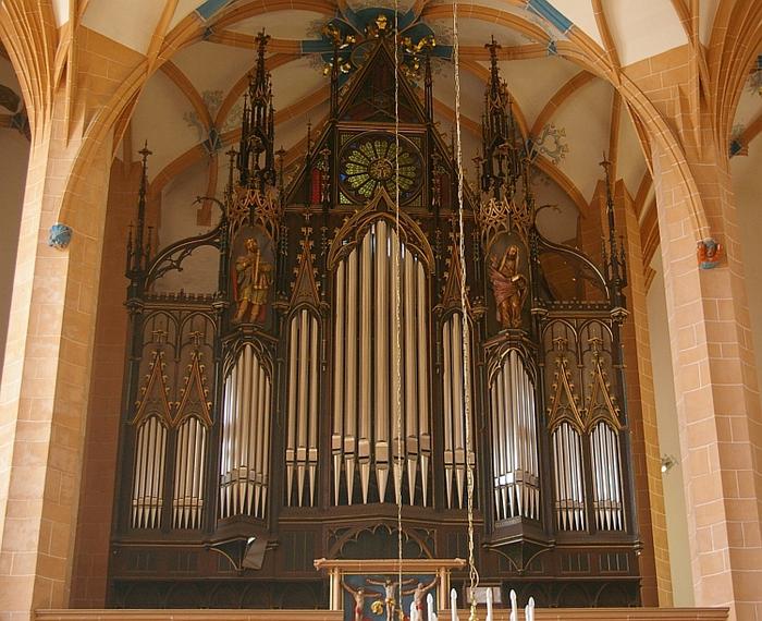 Готическая церковь св. Анны в Аннаберг-Буххольце 23475