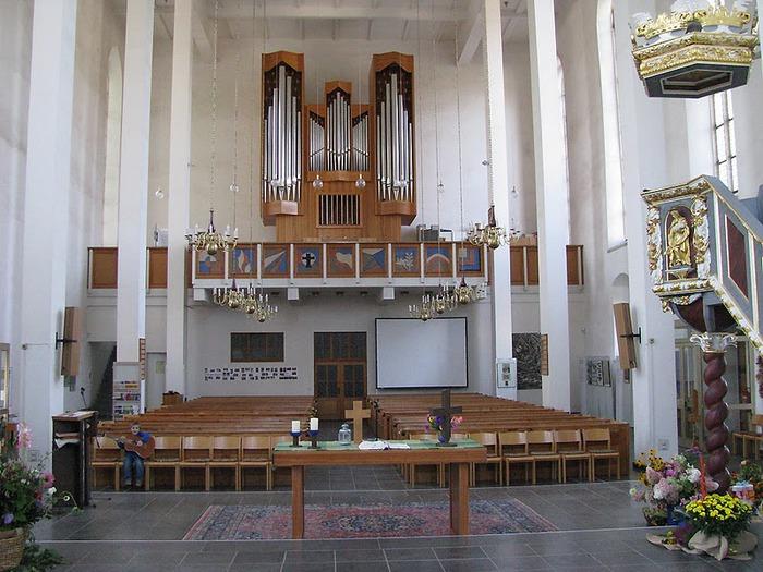 Готическая церковь св. Анны в Аннаберг-Буххольце 78846