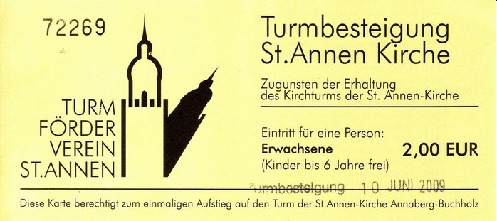 Готическая церковь св. Анны в Аннаберг-Буххольце 59990