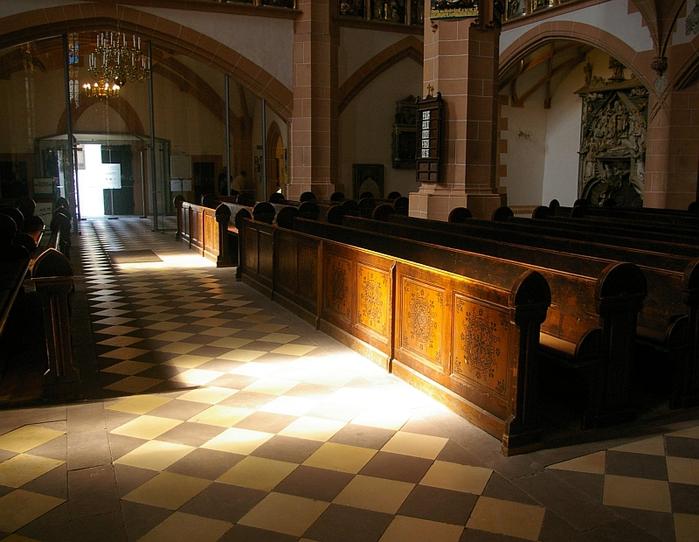 Готическая церковь св. Анны в Аннаберг-Буххольце 46707