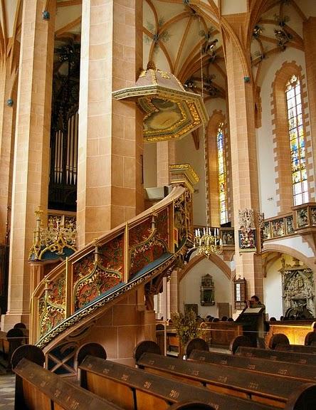 Готическая церковь св. Анны в Аннаберг-Буххольце 57365