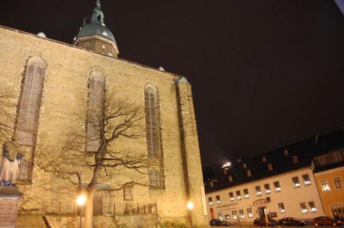 Готическая церковь св. Анны в Аннаберг-Буххольце 37410