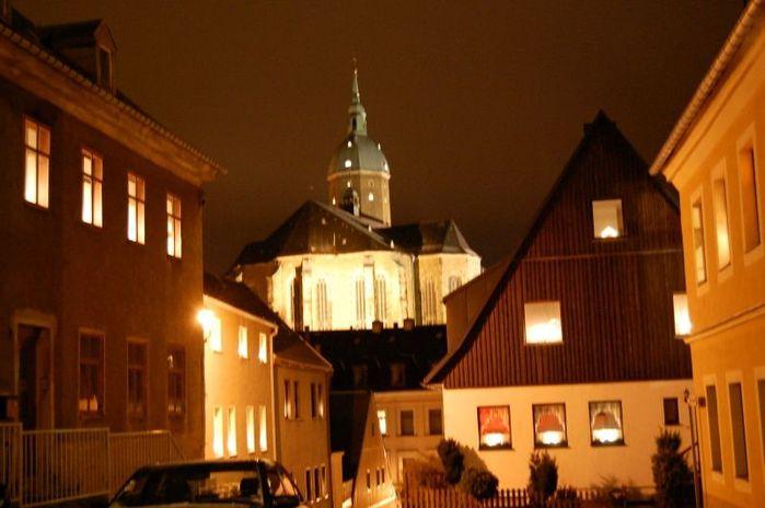 Готическая церковь св. Анны в Аннаберг-Буххольце 48321