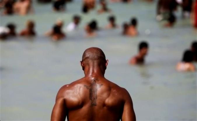 12-ый Rotilla фестиваль электронной музыки на Jibacoa пляже, Куба, 6 августа 2010 года.