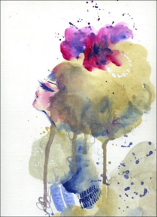 Anneli Olander - художник и иллюстратор из города Сторфорс, Швеция