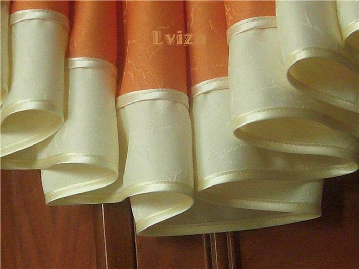 Шторы из остатков ткани