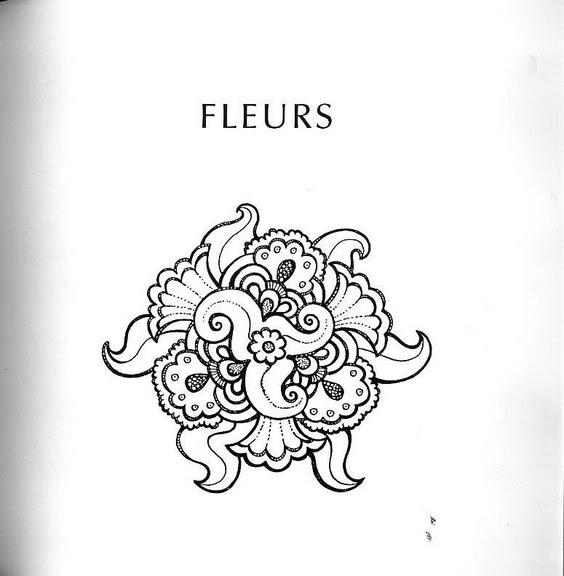 шаблоны цветов, рисунки цветов, рисунок бутона цветка