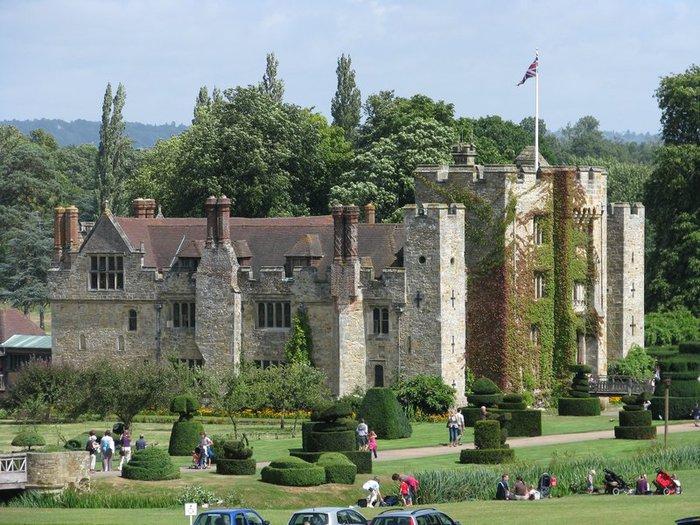 Замок Хивер-кастл - Hever Castle 65127