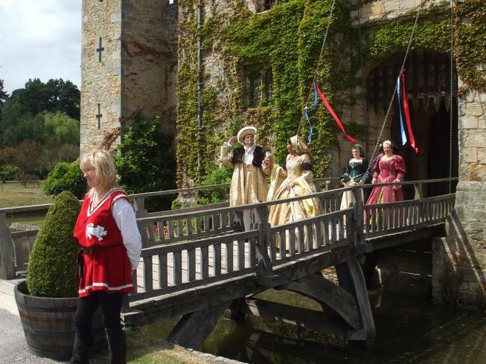 Замок Хивер-кастл - Hever Castle 53420